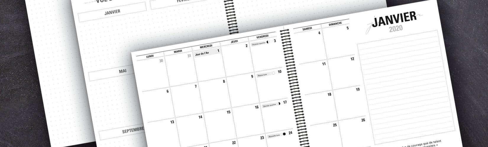 Pourquoi utiliser un agenda papier ?