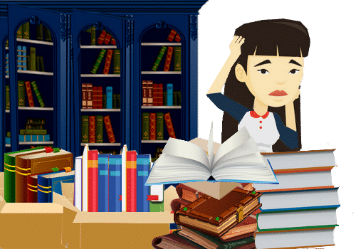 Comment déménager ses livres ?